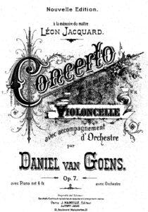 cp - Goens D. - Cello Concerto Op.7