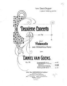 cp - Goens D. - Concerto No.2 Op.30
