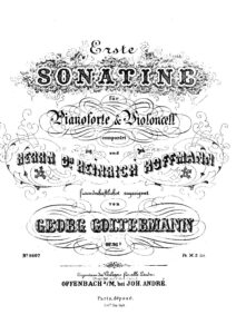 cp - Goltermann G. - Sonatina No.1 Op.36