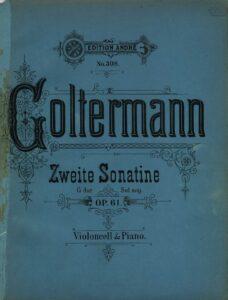 cp - Goltermann G. - Sonatina No.2 Op.61