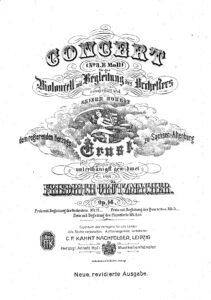 cp - Grutzmacher F. - Cello Concerto No.3 in E minor Op.46