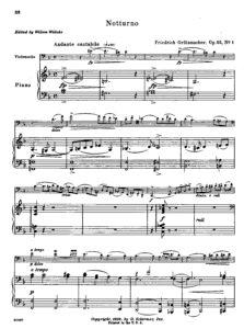 cp - Grutzmacher F. - Notturno Op.32 No1 (Willeke)