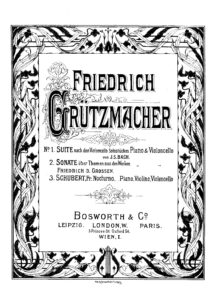 cp - Grutzmacher F. - Sonata on Themes from the Works of Frederick the Great