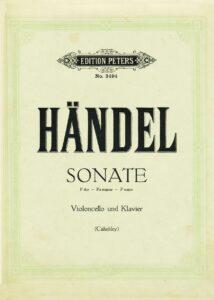 cp - Handel G.F. - Violin Sonata No.3 in F (Cahnbley)