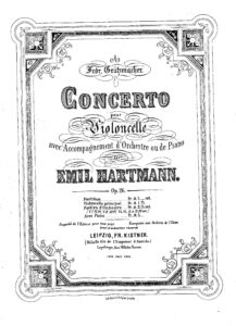 cp - Hartmann E. - Concerto in D minor Op.26