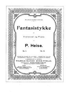 cp - Heise P. - 2 Fantasy Pieces