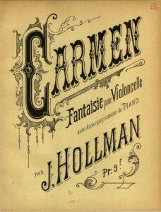 cp - Hollman J. - Carmen-Fantasie
