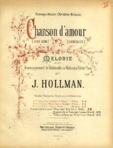 cp - Hollman J. - Chanson d'Amour