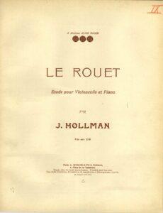 """cp - Hollman J. - Etude """"Le Rouet"""""""