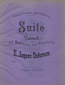 cp - Jaques-Dalcroze E. - Suite Op.9