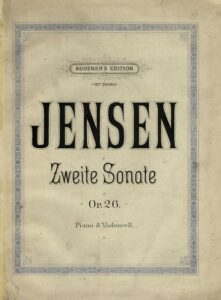 cp - Jensen G. - Cello Sonata No.2 Op.26
