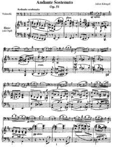 cp - Klengel J. - Andante sostenuto Op.51