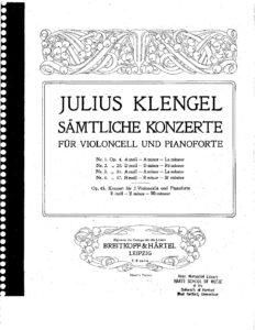 cp - Klengel J. - Cello Concerto No.4 in B minor Op.37