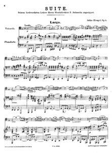 cp - Klengel J. - Suite Op.1