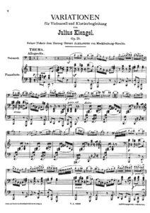 cp - Klengel J. - Variations Op.19