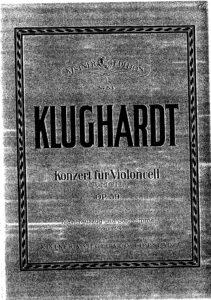 cp - Klughardt A. - Cello Concerto Op.59
