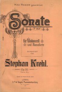 cp - Krehl S. - Cello Sonata in F Op.20