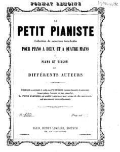 cp - Lamoury P. - Sonatina No.2