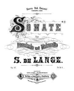 cp - Lange S. - Sonata Op.37
