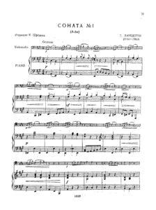 cp - Lanzetti S. - Sonata No.1 in A (Schroeder)