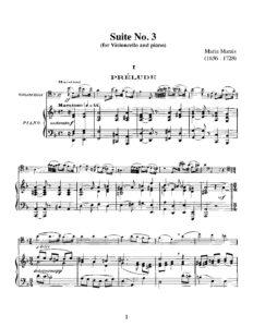 cp - Marais M. - Suite No.3 in D minor (Feuillard)