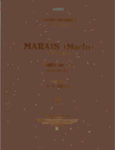 cp - Marais M. - Suite in A (Bruyn)