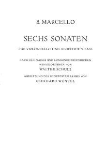 cp - Marcello B. - 6 Sonatas (B.C. part included)