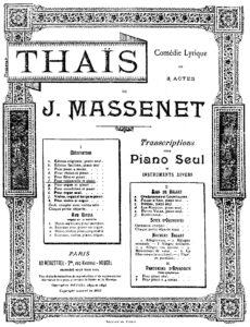 "cp - Massenet J. - Meditation from ""Thais"" (Delsart)"