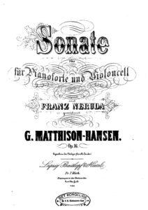 cp - Matthison-Hansen G. - Cello Sonate in F Op.16