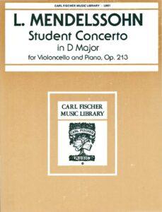 cp - Mendelssohn A.L. - Student Cello Concerto in D Op.213