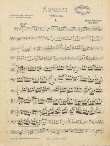 cp - Monn M.G. - Cello Concerto in G minor