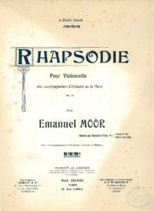 cp - Moor E. - Rhapsodie Op.78