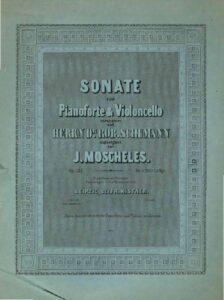 cp - Moscheles J. - Sonata Op.121