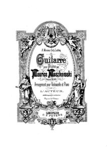 cp - Moszkowski M. - Guitarre Op.45 No.2