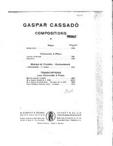 cp - Mozart W.A. - Sonata KV.358 (Cassado)