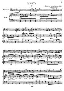 cp - Myslivecek J.- Sonata in G