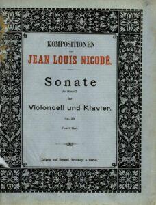 cp - Nicode J.L. - Cello Sonata in B minor Op.23