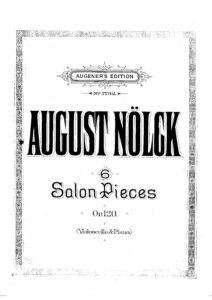 cp - Nolck A. - 6 Salon Pieces Op.120