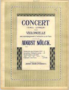 cp - Nolck A. - Cello Concerto in A minor Op.130a