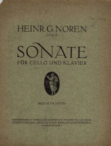cp - Noren H. - Sonata Op.47
