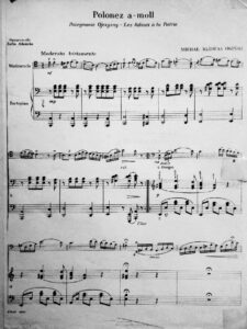 cp - Oginski M.K. - Polonaise in A minor