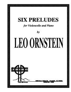 cp - Ornstein L. - 6 Preludes for Cello and Piano SO611