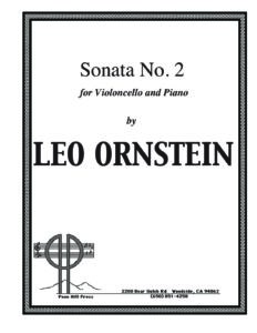 cp - Ornstein L. - Cello Sonata No.2 SO613