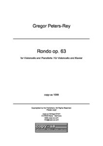 cp - Peters-Rey G. - Rondo Op.63