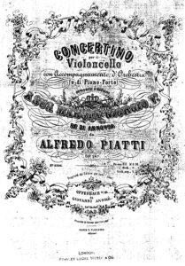 cp - Piatti A. - Concertino in A minor Op.18