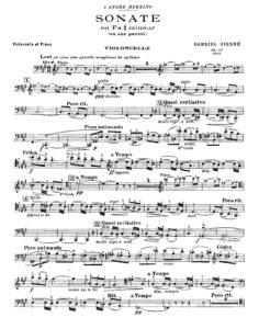 cp - Pierne G. - Sonata in F sharp minor Op.46