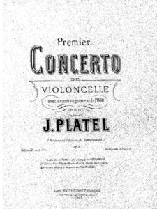 cp - Platel J. - Cello Concerto No.1 Op.3