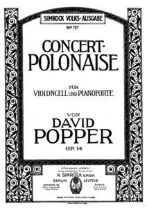 cp - Popper D. - Concert Polonaise in D minor Op.14