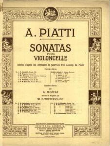 cp - Porpora N. - Sonata in F (Piatti)
