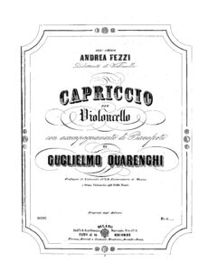 cp - Quarenghi G. - Capriccio